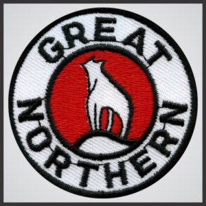 Great Northern Railway - Black Logo